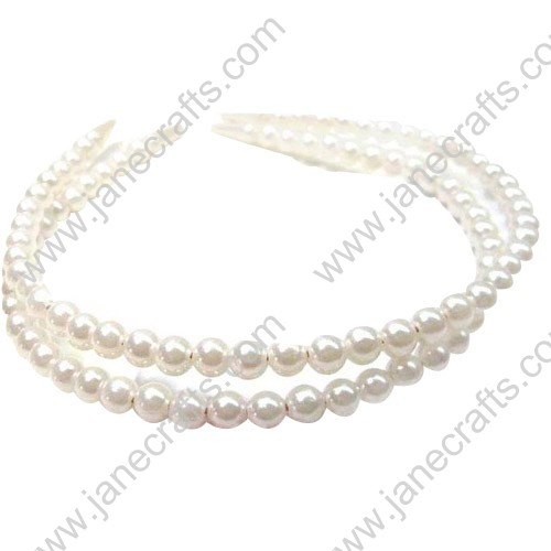 Cute Imitation Pearl Hair Decoration Headband Wholesale Lots 12PCS Hairband