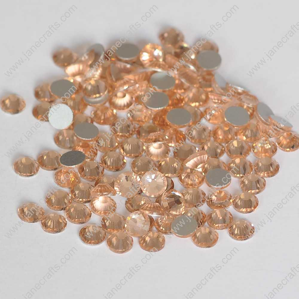 1440pcs High Quality SS6 2mm Glass Crystal Flatback Rhinestones-Champagne