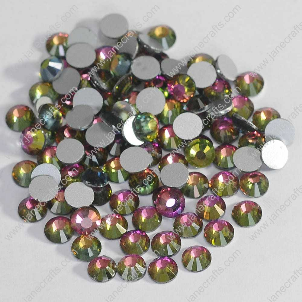 288pcs High Quality SS30 6.3mm Glass Crystal Flatback Rhinestones-Crystal Vitrail Medium
