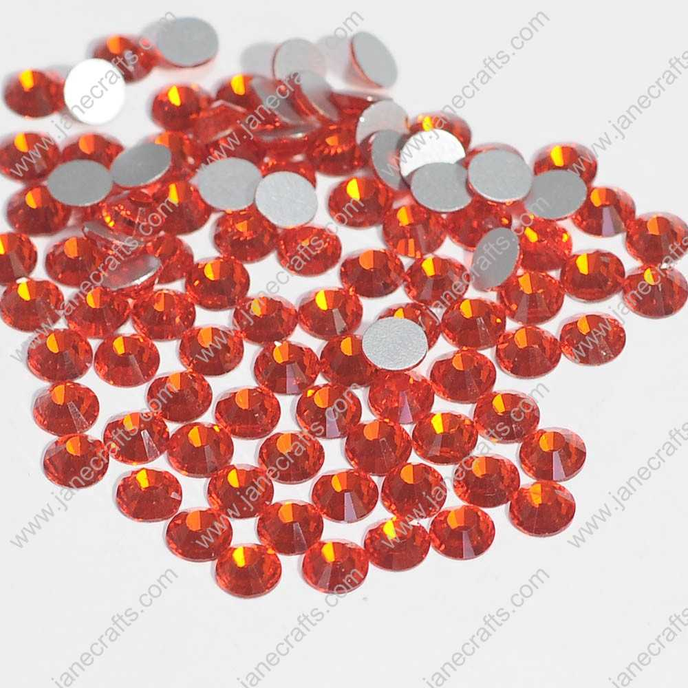 288pcs High Quality SS30 6.3mm Glass Crystal Flatback Rhinestones-Hyacinth