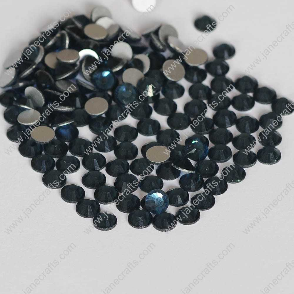 288pcs High Quality SS30 6.3mm Glass Crystal Flatback Rhinestones-Motana