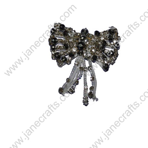 "2.5"" dazzling Luxury Bows with Rhinestone"