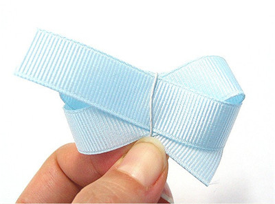 how to make a duble layer chunky bow