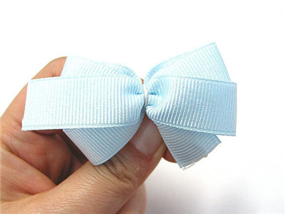 how to make a double layer chunky bow