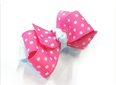 Step By Step:  How To Make a Double Layer Chunky Bow