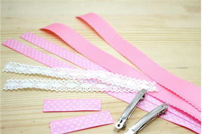 How to make a lace hair bow