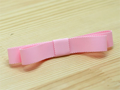 Step By Step:  How To Make a Ribbon Snap